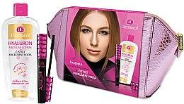 Parfumuri și produse cosmetice Set - Dermacol (water/400ml + mascara/10ml + bag)