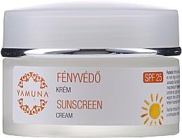 Parfumuri și produse cosmetice Cremă de zi cu protecție solară - Yamuna Sunscreen Cream SPF 25