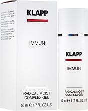 Parfumuri și produse cosmetice Fluid pentru față - Klapp Immun Radical Moist Complex
