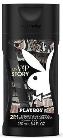 Playboy My VIP Story - Gel de duș — Imagine N1