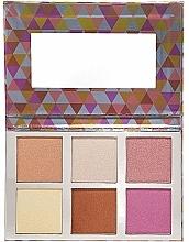Parfumuri și produse cosmetice Paletă farduri sidefate - Bellapierre Glowing Palette 2