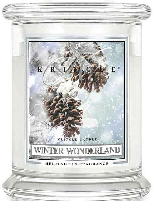 Lumânare aromatică, în borcan - Kringle Candle Winter Wonderland — Imagine N1