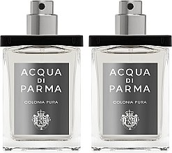 Parfumuri și produse cosmetice Acqua di Parma Colonia Pura Travel Spray Refills - Apă de colonie