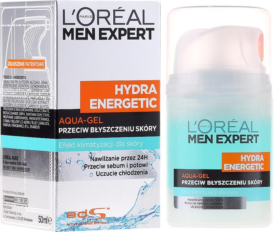 """Gel hidratant """"Efect glacial"""" - L'Oreal Paris Men Expert Hydra Energetic — Imagine N5"""