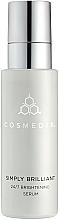 Parfumuri și produse cosmetice Ser cu efect iluminant - Cosmedix Simply Brilliant 24/7 Brightening Serum