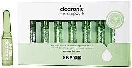 Parfumuri și produse cosmetice Fiole cu efect calmant pentru față - SNP Prep Cicaronic SOS Ampoule