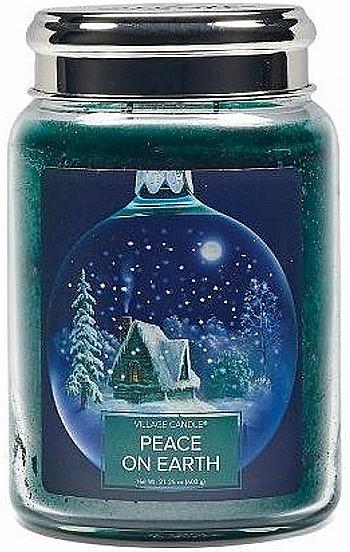 Lumânare parfumată, în borcan - Village Candle Peace Of Earth — Imagine N1