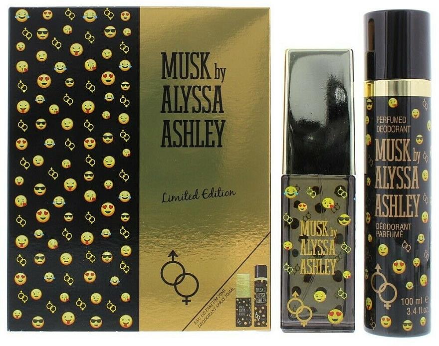 Alyssa Ashley Musk Limited Edition - Set (edp/50ml+deo/100ml) — Imagine N1