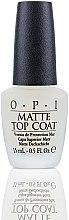 Parfumuri și produse cosmetice Fixator mat pentru unghii - O.P.I Matte Top Coat