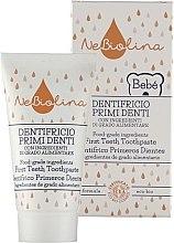 Parfumuri și produse cosmetice Pastă pentru primii dinți - Nebiolina Baby First Teeth Toothpaste