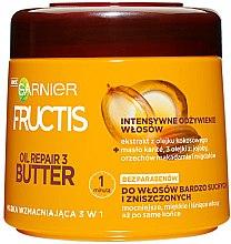 Parfumuri și produse cosmetice Mască de păr - Garnier Fructis Oil Repair 3 Butter Mask