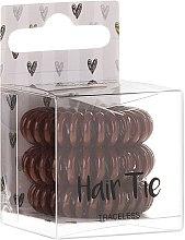 Parfumuri și produse cosmetice Elastice pentru păr, maro - Cosmetic 2K Hair Tie Brown