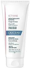 Parfumuri și produse cosmetice Scrub nutritiv pentru față și corp - Ducray Ictyane Emollient Nutritive Anti-Dryness Face & Body Cream
