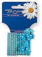 Parfumuri și produse cosmetice Set elastice de păr 12 buc., 22067 - Top Choice