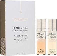 Parfumuri și produse cosmetice Ser facial împotriva pigmentării - Guerlain Blanc De Perle Whitening Day & Night Treatment