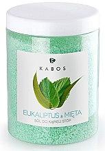 Parfumuri și produse cosmetice Sare de baie pentru picioare - Kabos Eucalyptus & Mint Foot Bath Salt