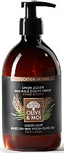 """Parfumuri și produse cosmetice Săpun lichid cu ulei de măsline """"Vetiver"""" - Saryane Olive & Moi Liquid Soap"""