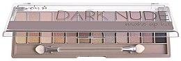 Parfumuri și produse cosmetice Paleta fard de pleoape - Lovely Dark Nude Make Up Kit