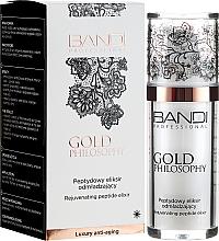 Parfumuri și produse cosmetice Elixir anti-îmbătrânire pentru față - Bandi Professional Gold Philosophy Rejuvenating Peptide Elixir