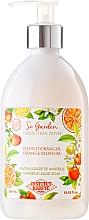 """Parfumuri și produse cosmetice Săpun lichid """"Flori de portocal"""" - Institut Karite So Garden Collection Privee Orange Blossom Marseille Liquid Soap"""