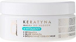 Parfumuri și produse cosmetice Mască pe bază de vitamine și keratină pentru păr - Silcare Quin Keratin & Vitamins Hair Mask
