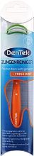 Parfumuri și produse cosmetice Curățător de limbă, orange - DenTek Comfort Clean Tongue Scraper
