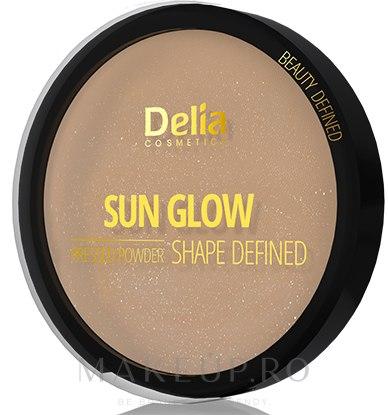 Pudră compactă de față - Delia Shape Defined Sun Glow — Imagine 401 - Blonde
