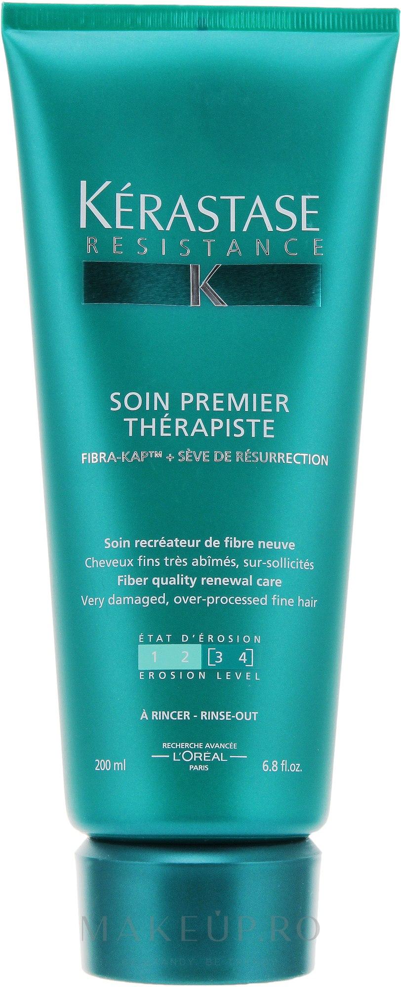 Tratament regenerant pentru părul fragil și deteriorat - Kerastase Resistance Premier Therapist Renewal Care — Imagine 200 ml
