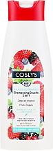 Parfumuri și produse cosmetice Șampon organic pentru păr și corp, fără săpun - Coslys Body Care Body And Hair Shampoo With Red Berries