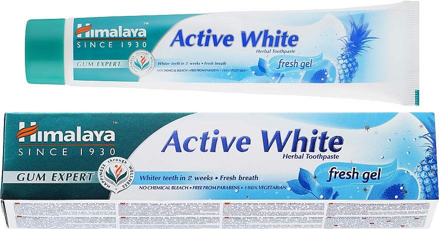 Pastă de dinți - Himalaya Herbals Active White Fresh Gel