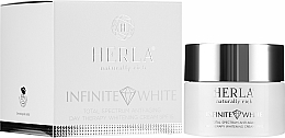 Parfumuri și produse cosmetice Cremă de față - Herla Infinite White Total Spectrum Anti-Aging Day Therapy Whitening Cream SPF 15