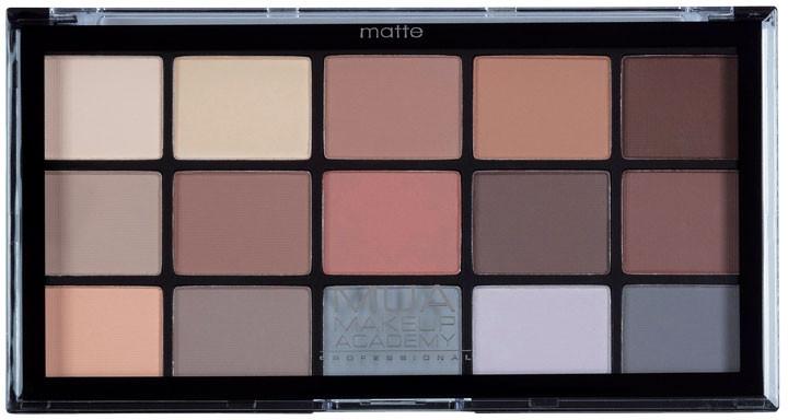Paleta fard de ochi - MUA Pro 15 Shade Eyeshadow Palette Matte