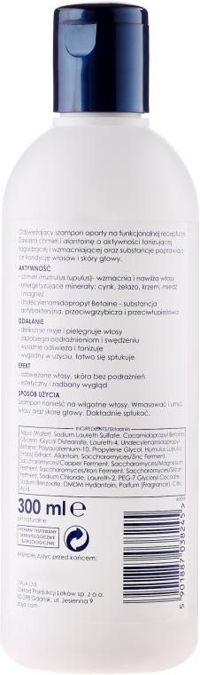 Șampon pentru întărirea părului, pentru bărbați - Ziaja Yego Fortifying Shampoo — Imagine N2