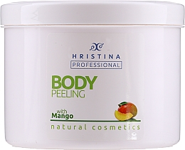 "Parfumuri și produse cosmetice Peeling pentru corp ""Mango"" - Hristina Professional 100% Natural Mango Body Peeling"