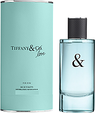 Parfumuri și produse cosmetice Tiffany & Co Love For Him - Apă de toaletă (mini)