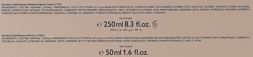 Oriflame Giordani Gold Essenza - Set (parf/50ml + b/cr/250ml) — Imagine N6