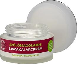 Parfumuri și produse cosmetice Cremă de noapte, cu ulei din semințe de struguri - Yamuna Grape Seed Oil Night Cream