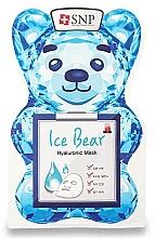 Parfumuri și produse cosmetice Mască cu acid hialuronic pentru față - SNP Ice Bear Hyaluronic Mask