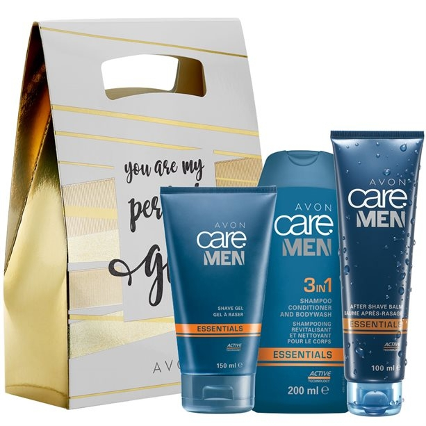 Set - Avon Care Man (shm/200ml+sh/balm150ml+after/sh/balm/100ml) — Imagine N1
