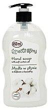 """Parfumuri și produse cosmetice Săpun lichid pentru mâini """"Ulei de bumbac"""" - Bluxcosmetics Naturaphy Hand Soap"""