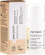 Parfumuri și produse cosmetice Cremă pentru zona ochilor - Pierpaoli Prebiotic Collection Illuminating Eye Contour Cream
