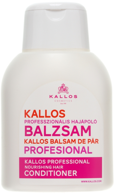 Balsam pentru păr - Kallos Cosmetics Nourishing Conditioner — Imagine N2