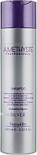 Șampon pentru păr blond - Farmavita Amethyste Silver Shampoo — Imagine N1