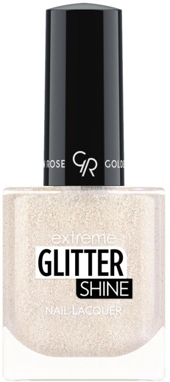Lac de unghii - Golden Rose Extreme Glitter Shine Nail Lacquer (10.2 ml)