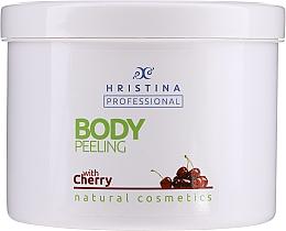 """Parfumuri și produse cosmetice Scrub pentru corp """"Cherry"""" - Hristina Professional Cherry Body Peeling"""