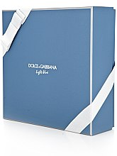 Dolce & Gabbana Light Blue Pour Homme - Set (edt 125 + sh/g 50 + a/sh balm 75) — Imagine N4