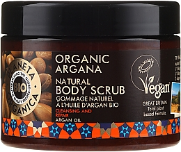 Parfumuri și produse cosmetice Scrub de corp - Planeta Organica Organic Argana Natural Body Scrub