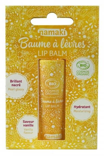 "Balsam de buze ""Vanilie"" - Namaki — Imagine N1"