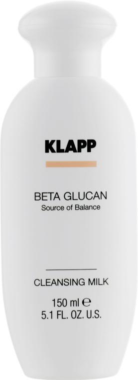 Lapte pentru față - Klapp Beta Glucan Cleansing Milk — Imagine N2