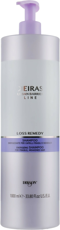 Șampon împotriva căderii și a stimulării creșterii părului - Dikson Keiras Urban Barrier Loss Remedy Shampoo